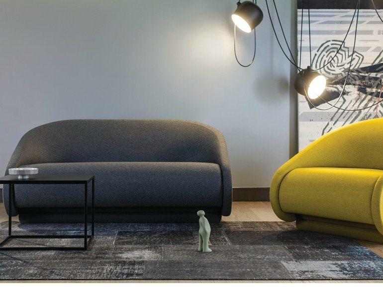 Divano Letto Design.Divano Letto In Tessuto A 2 Posti Up Lift Divano Letto