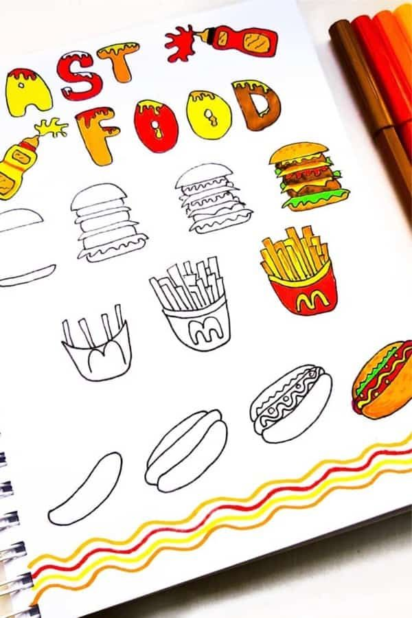Photo of 25+ Best Step By Step Food Doodles For Your Bujo – Crazy Laura