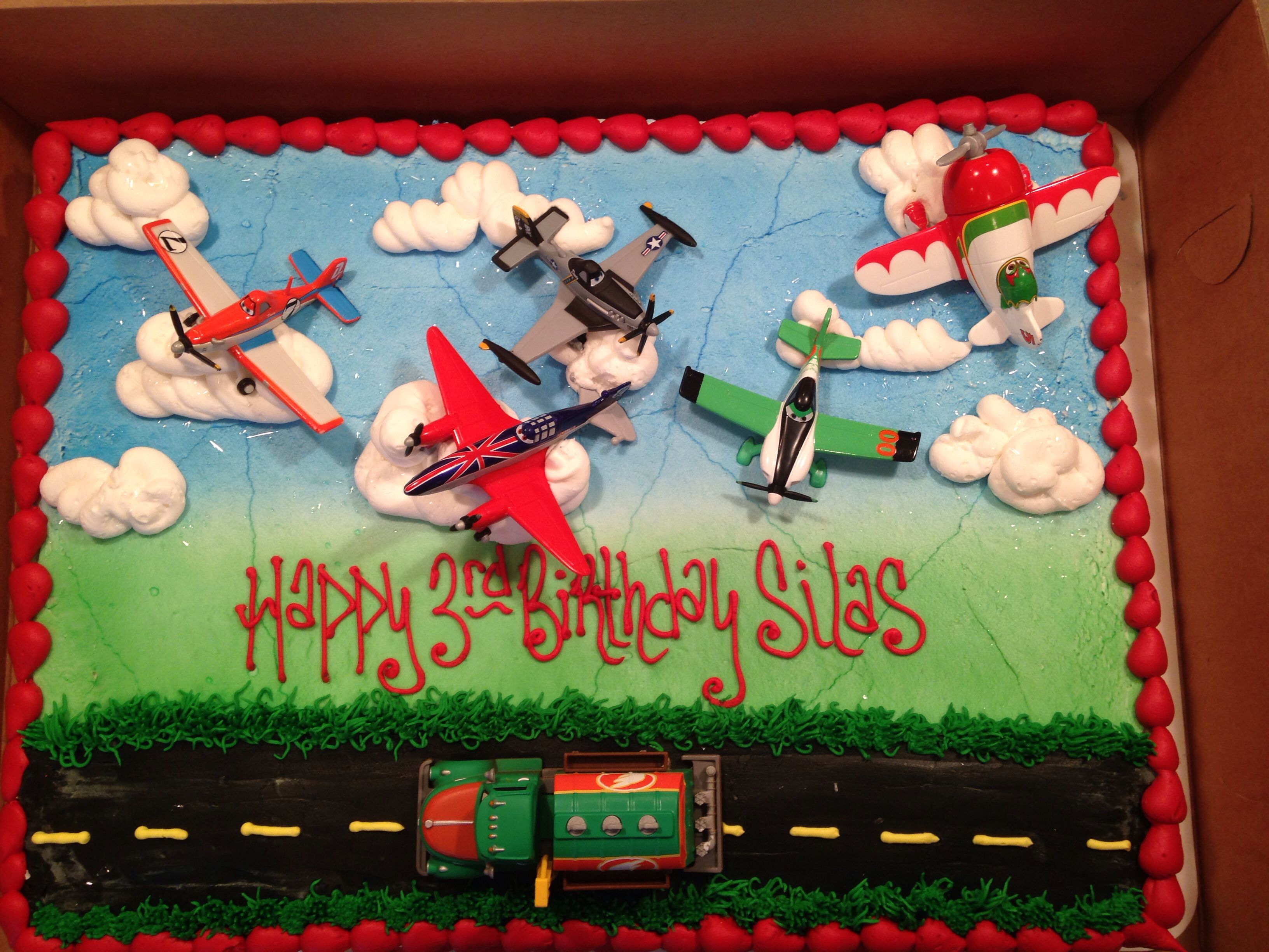 Disney Planes Birthday Cake