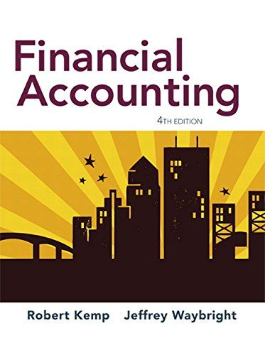 Financial Accounting 4th Edition For Introductory Courses In Financial Accounting I P Style Financial Accounting Accounting Financial Statement Analysis