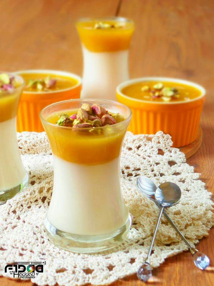 Qamar Eldden Muhalabiya مهلبية قمر الدين Food Ramadan Recipes Arabian Food