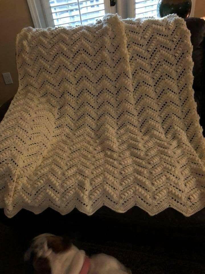 Popcorn Ripple Crochet Afghan Pattern Images - knitting patterns ...