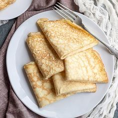 These grain-free crepes are so easy to prepare that they are just about no-fail! They're also low carb & gluten-free!