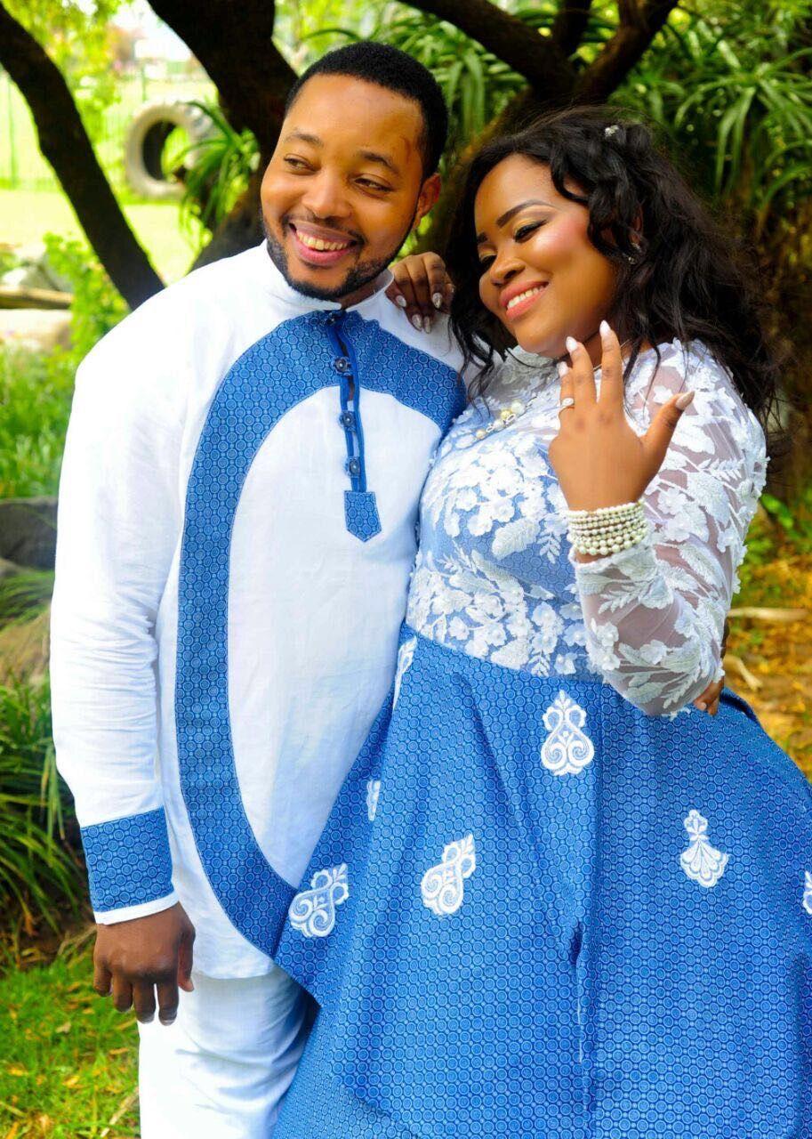 Shweshwe Wedding Dress Traditional Wedding Attire
