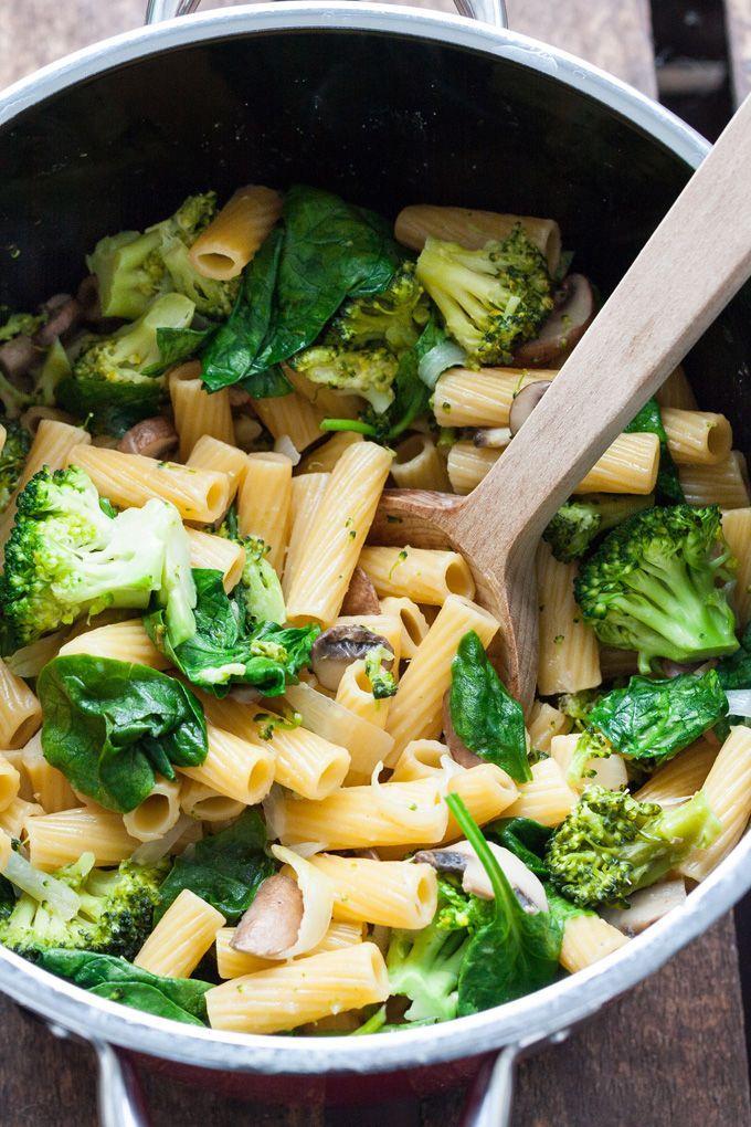 One Pot Pasta Primavera – Schnell und unglaublich lecker – Kochkarussell