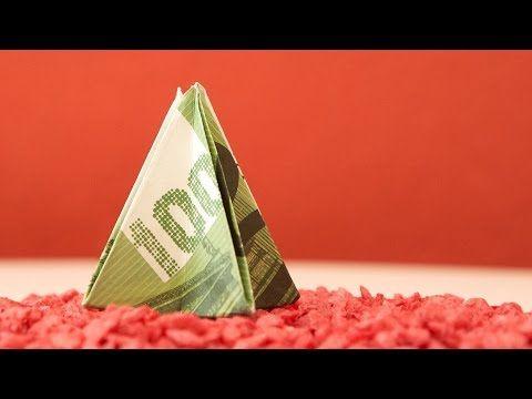 Geld Zu Weihnachten Verschenken Engel Aus Bargeld Falten Youtube