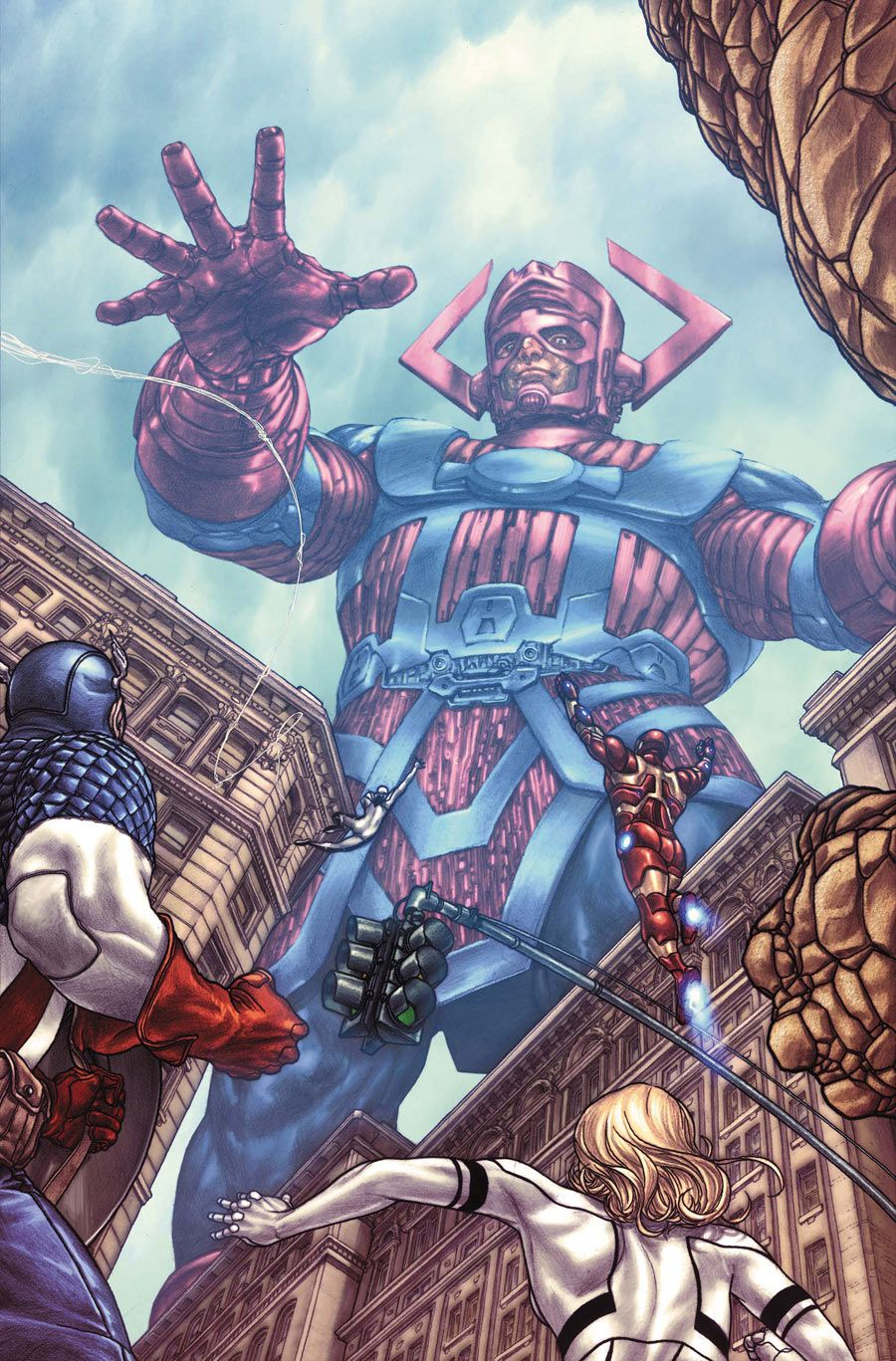 Galactus vs The Avengers by Mike Choi  MARVEL™  Marvel cómics, Héroes marvel y Marvel