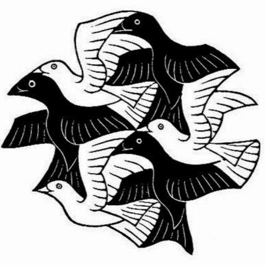 Mc Escher Birds Escher Art Mc Escher Art Mc Escher