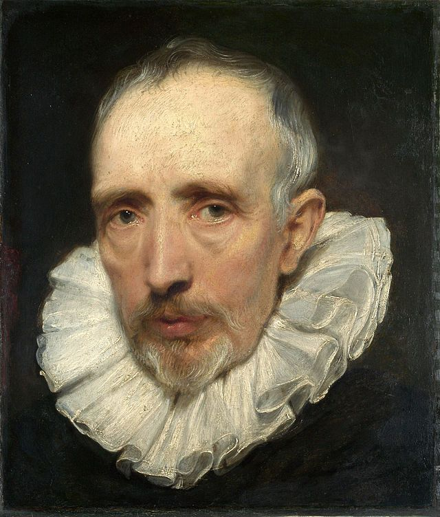 Portrait of Cornelis van der Geest by Sir Anthony van Dyck -- Stunning detail. I've seen it a few times now, at the National Gallery: http://www.nationalgallery.org.uk/paintings/anthony-van-dyck-portrait-of-cornelis-van-der-geest
