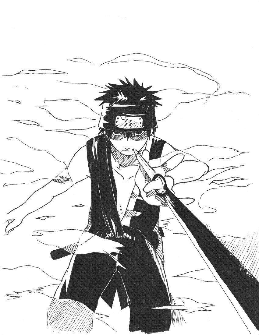 Inari of the Seven Swords by IrukaAnbu44 | Naruto oc characters, Naruto characters, Ajin anime