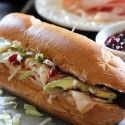 """The Downtowner"" sandwich on chef-in-training.com is one of THE BEST sandwiches you will ever eat! And its perfect for Thanksgiving leftover..."