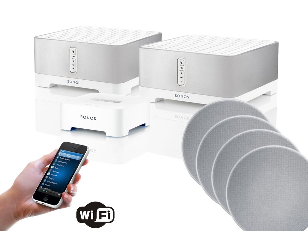 Sonos Connect Amp Amp 8 Quot Q Acoustics Qi80cp Performance