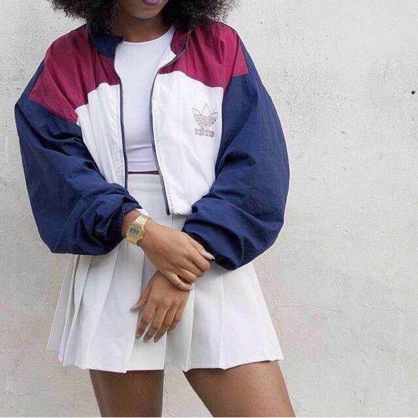 chaqueta original adidas adidas varsity jacket adidas adidas jacket original cropped crop ac34155 - rspr.host