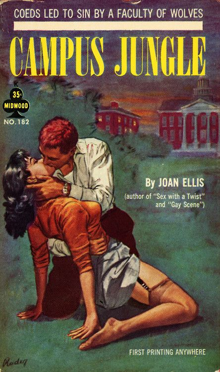 (via Campus Jungle / Awake To Love | Pulp Covers)