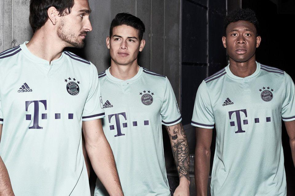 Bayern Munich Reveals Stripped-Back 2018/19 Away Kit   Football ...