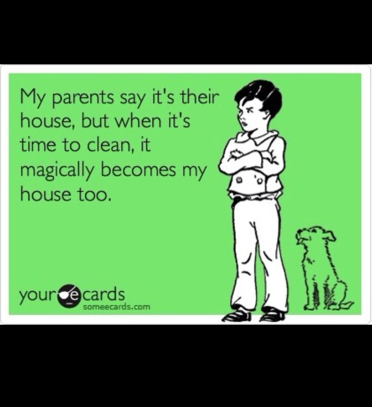 Come moving day have your kids help clean up their messy
