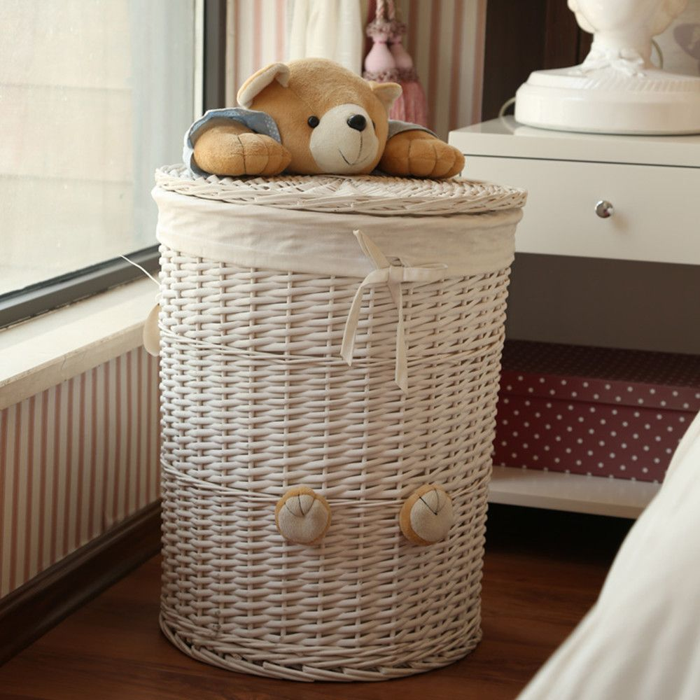 Large Laundry Sorter Large Chunky Wicker Baskets  Design  Pinterest  Large Laundry