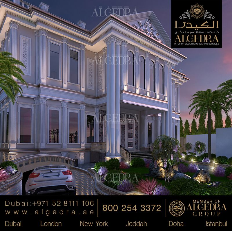 for Villa exterior design ideas