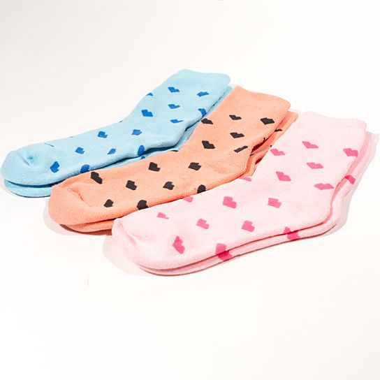 Hearts ankle socks from Hudiefly on OpenSky