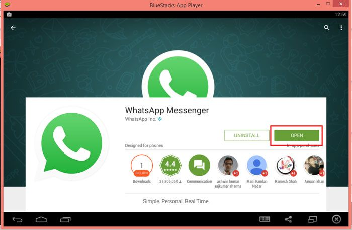 Whatsapp Free Download for Laptop (Windows 10/8/7/XP
