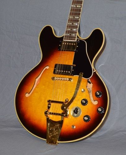 1967 Gibson ES-345TD Stereo Sunburst #vintageguitars