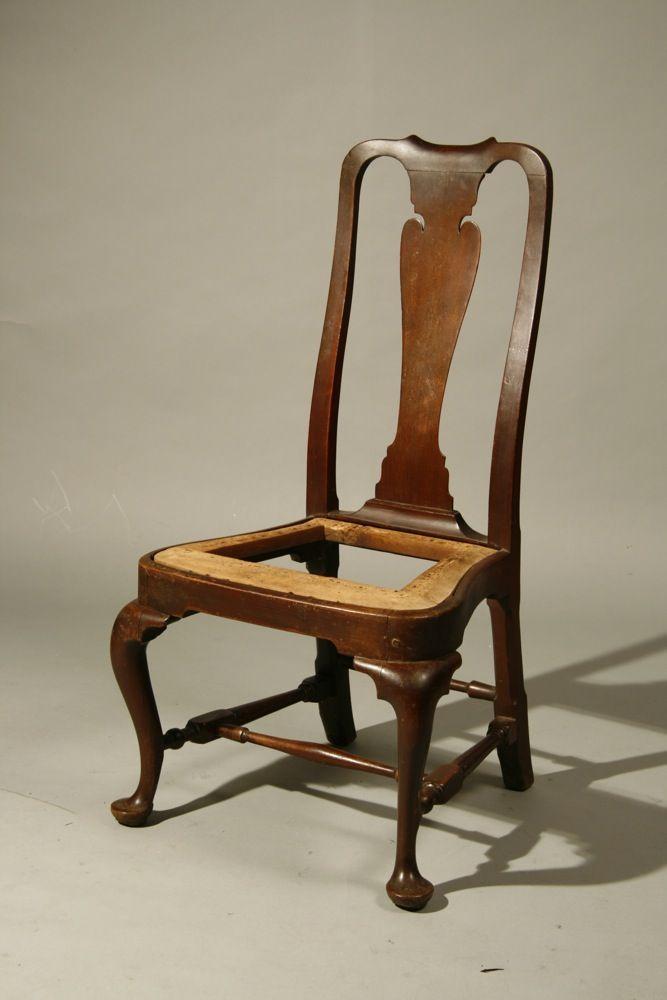 Antique Boston Queen Anne Chair New
