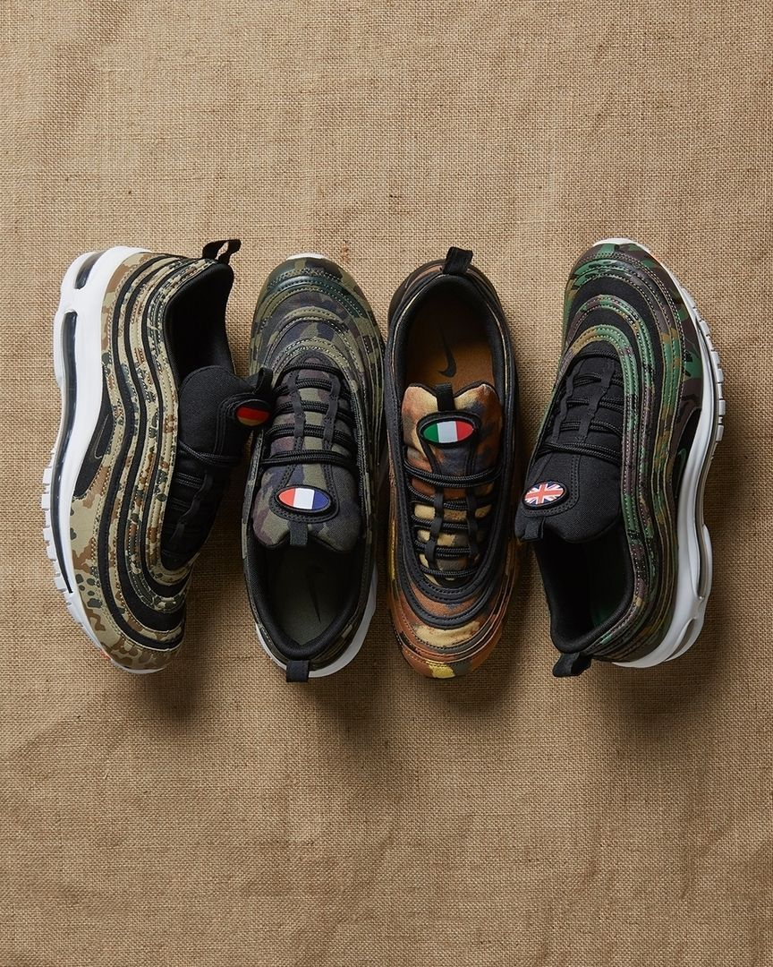 buy popular 2a408 064bf The nikesportswear Air Max 97 Country Camo pack dropped today on several  retailers