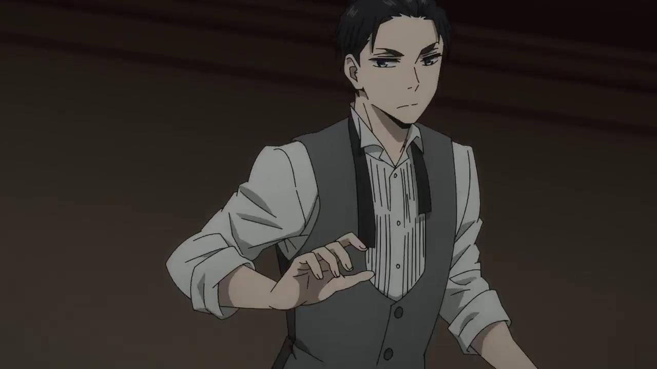 daisuke kambe 神戸大助 in 2020 Haikyuu anime, Daddy long