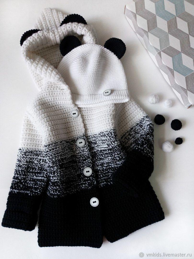 одежда для девочек ручной работы заказать кардиган с капюшоном
