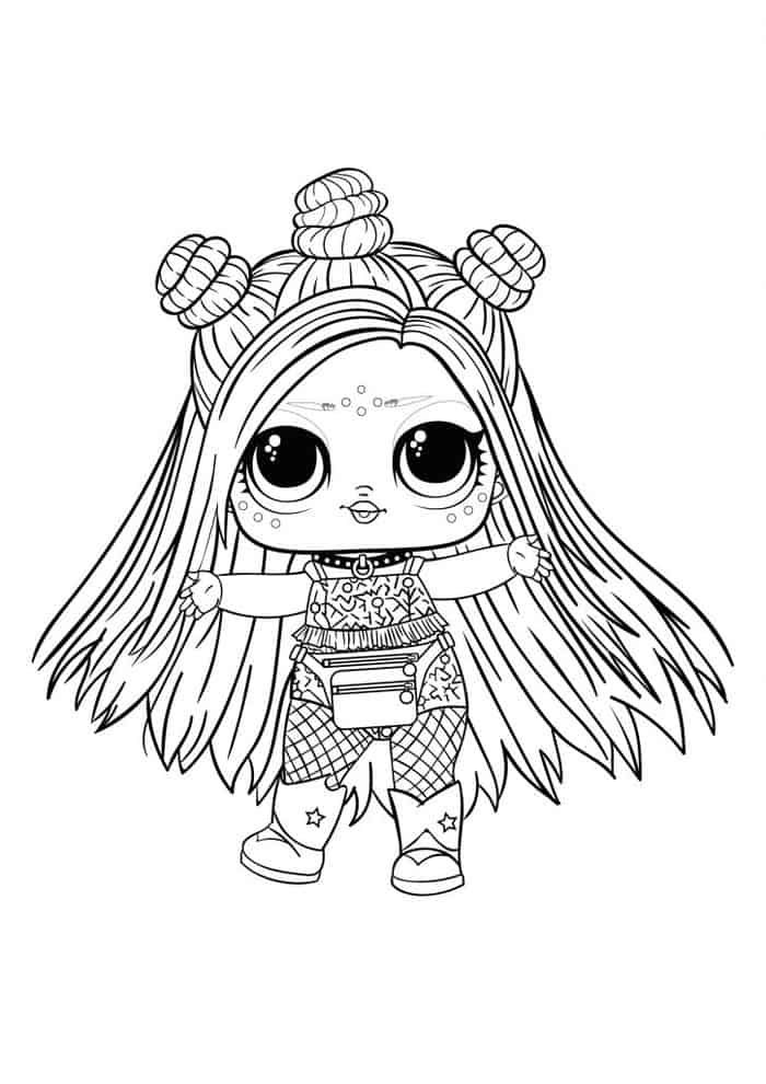 Lol Hair Goals Coloring Pages Bee Coloring Pages Unicorn Coloring Pages Lol Dolls