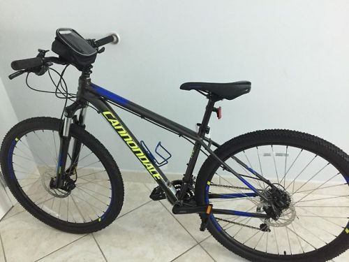 4e5dcda1a23 buy Cannondale 2017 Trail 5 bicycle hardly used looks awesome ...