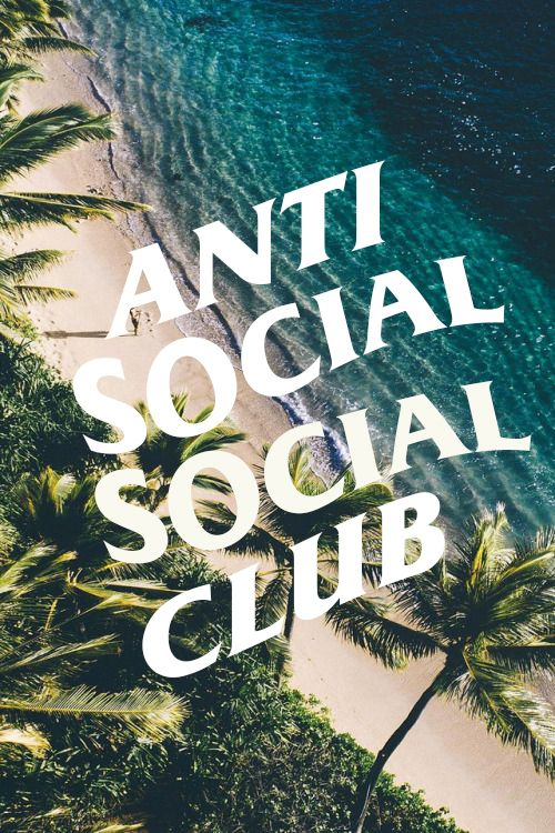 Anti-Social Social Club wallpaper for iPhone | Anti social ...
