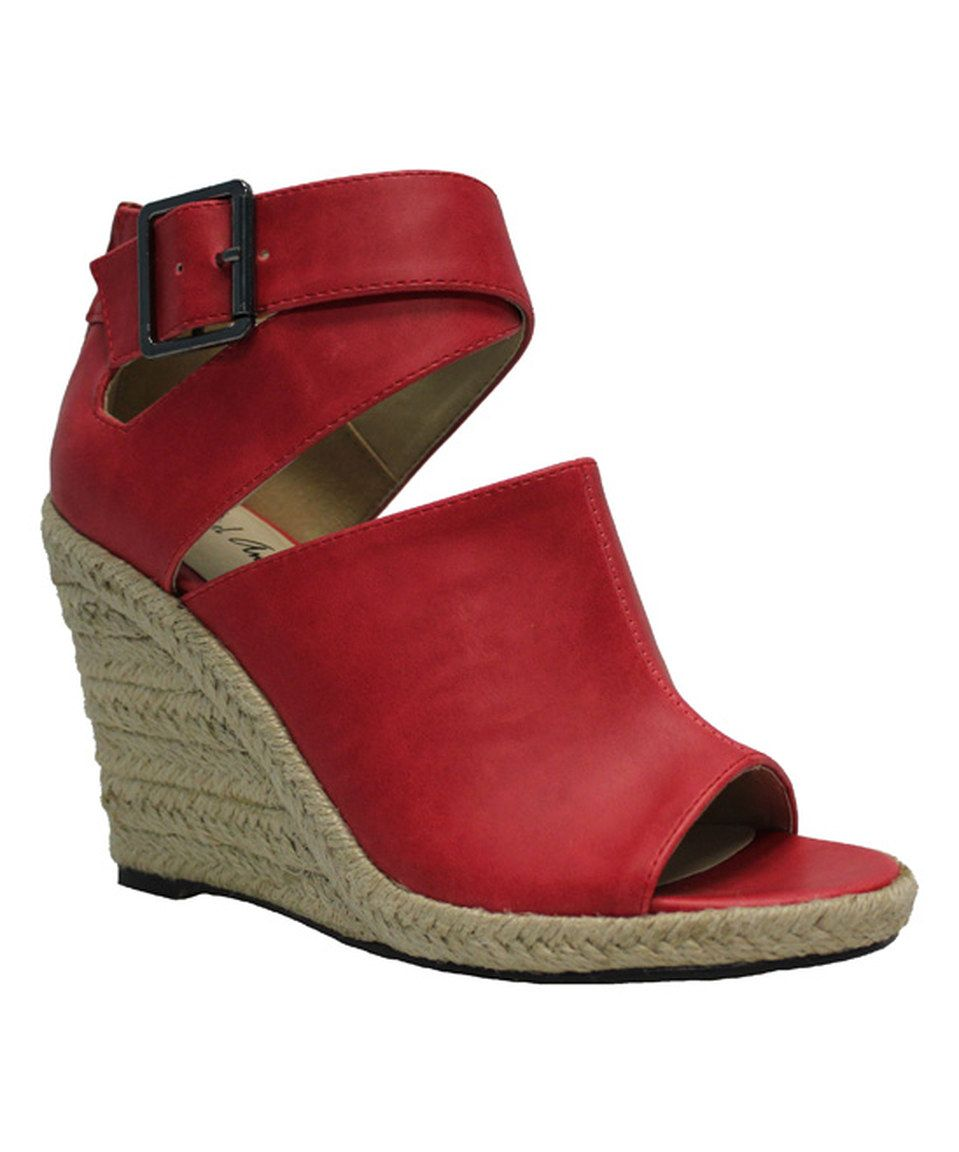 This Red Gins Espadrille by Michael Antonio is perfect! #zulilyfinds