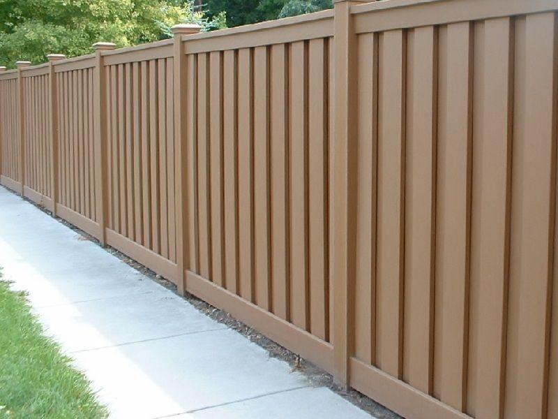 Wood Garden Fence 8 Feet High Horizontal Wood Composite Fence Panels Wood Fence Design Fence Design Backyard Fences