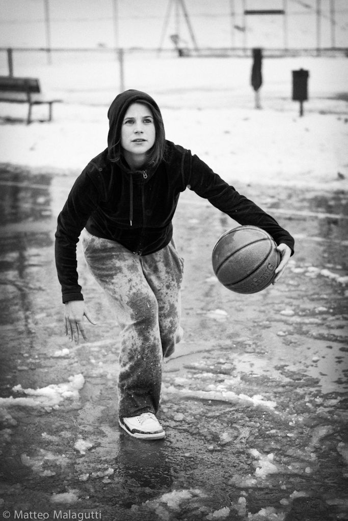 Basketball Girl Player Benedetta Basketball Girls Street Basketball Basketball