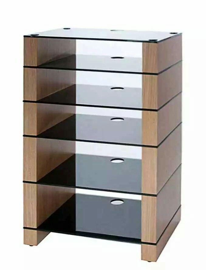 Mueble para equipo de sonido muebles pinterest for Mueble equipo hifi