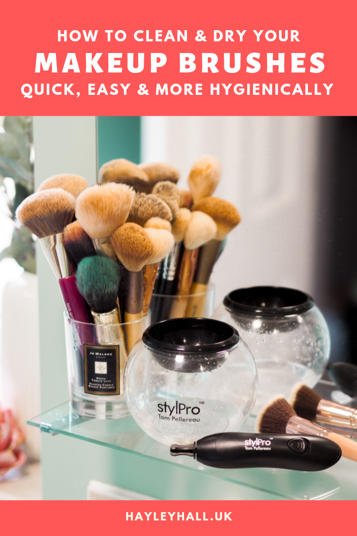 StylPro Makeup Brush Cleaner Quick, Easy & Hygienic Brush
