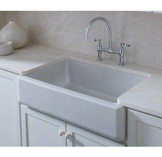 Kohler K 6489 Cast Iron Kitchen Sinks Single Bowl Kitchen Sink Farmhouse Sink Kitchen