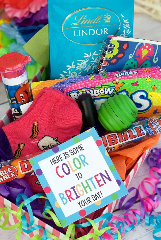 Bright Colorful Cheer Up Gift Idea Gift Ideas Cheer Up