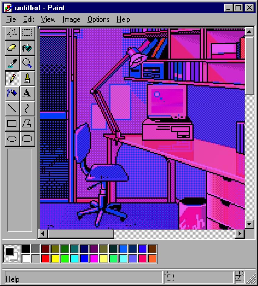 b e d r o o m in 2020 Pixel art, Vaporwave, Aesthetic