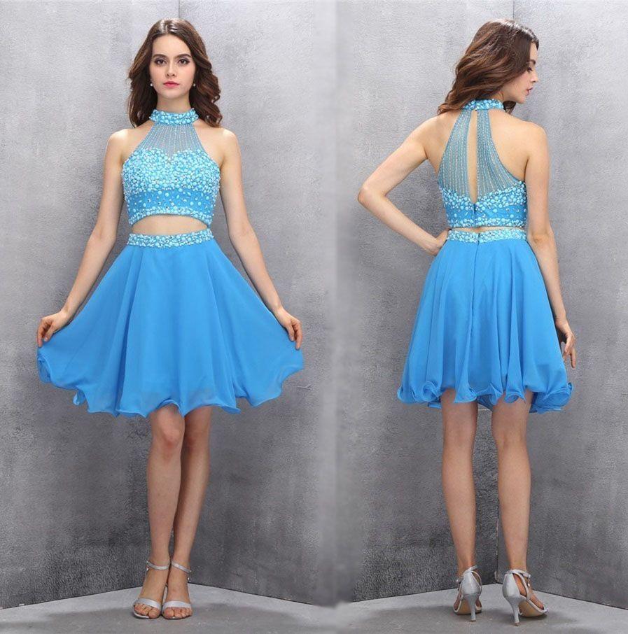 Two piece homecoming dressesshort homecoming dressesprom dress