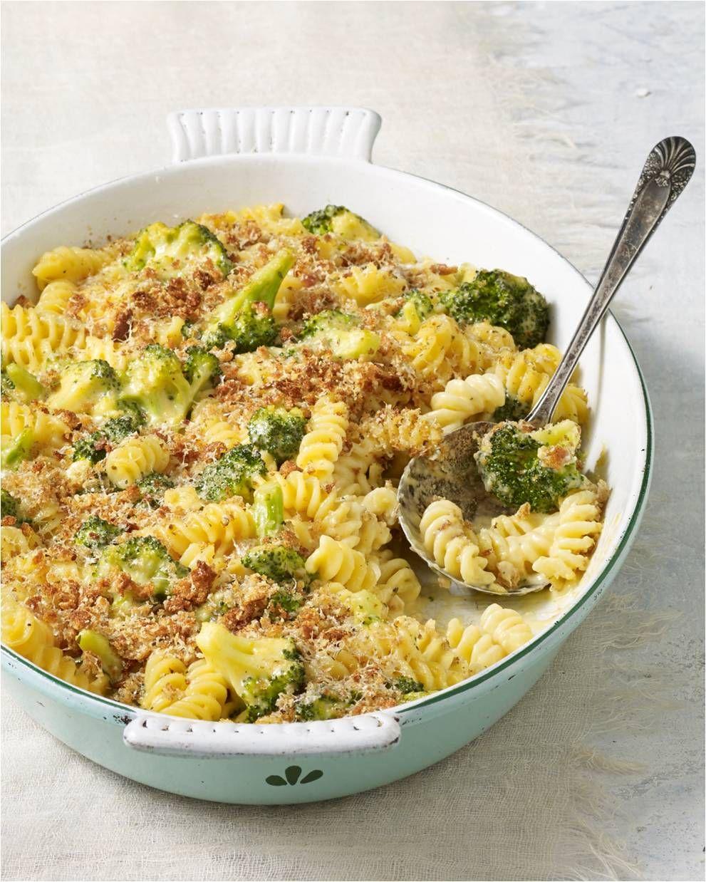 Skinny Broccoli Mac and Cheese