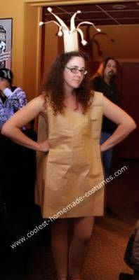 Homemade Paperbag Princess Costume #paperbagprincesscostume