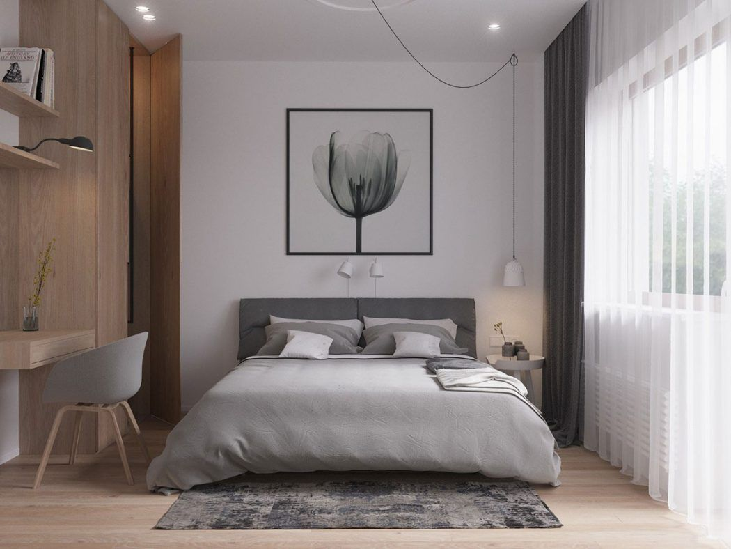 Modern Scandinavian By Zrobym Architects Modern Scandinavian Bedroom Design Scandinavian Design Bedroom Modern Scandinavian Bedroom