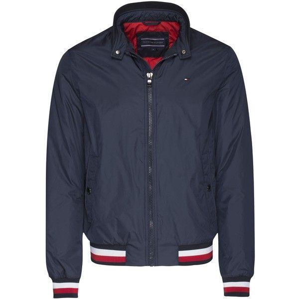 Tommy Hilfiger Erol Bomber Jacket (8.315 RUB) ❤ liked on Polyvore featuring  men's fashion, men's clothing, men's outerwear, men's jackets, sale men  coats ...