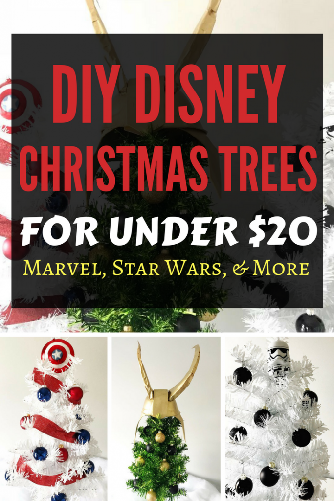 Diy Disney Christmas Trees For Under 20 Disney Dreaming Disney