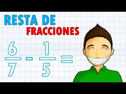 Simplificar Fracciones Super Fácil Para Principiantes Youtube Resta De Fracciones Fracciones Fracciones Para Primaria