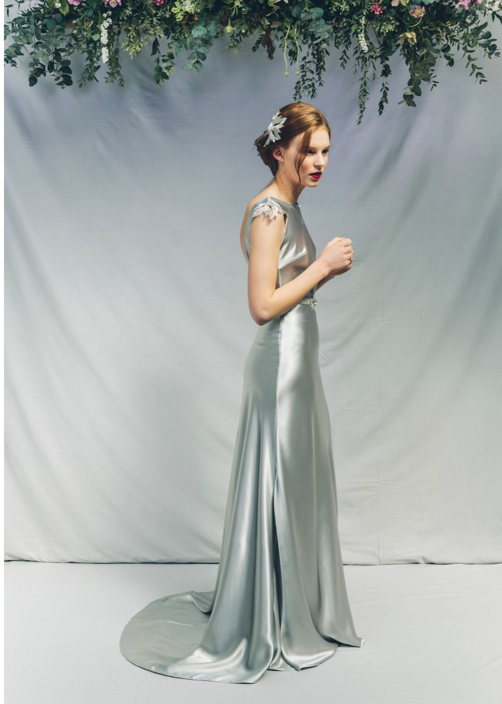 White and silver wedding dresses  colourful  Colourful wedding dresses  Pinterest  Wedding dress