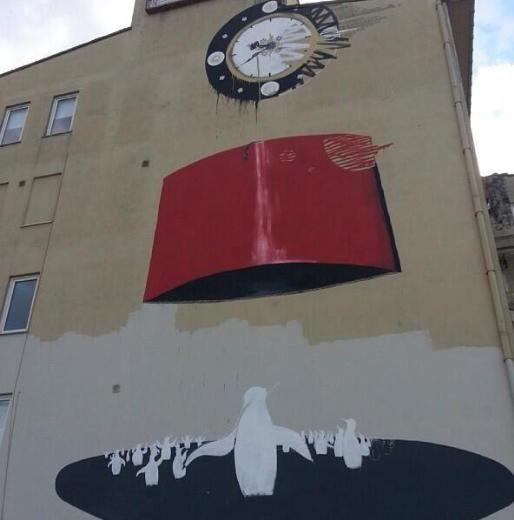 Kadıköyde Yeldeğirmeni Duvar Boyama Sanatı Festivali Kadıköyde
