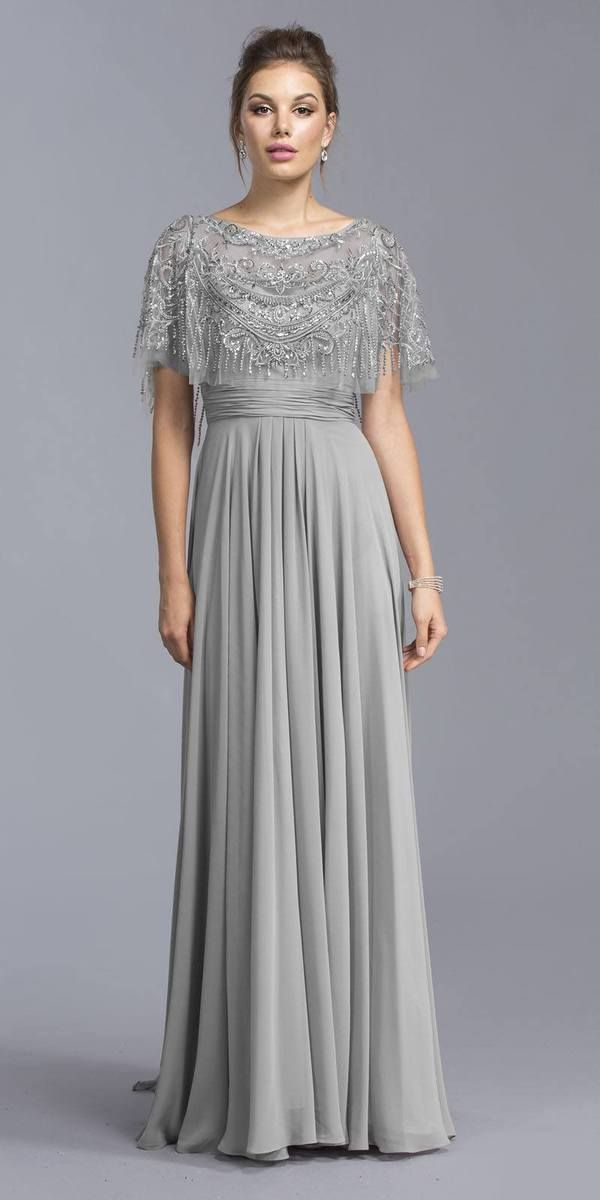 Floor-Length Bandage Hand-Embroidered Evening Dresses